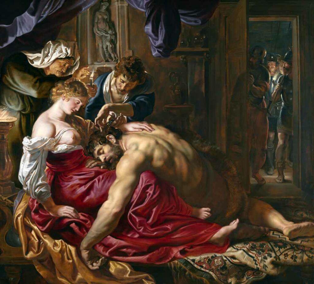 Sansão e Dalila, pintura de Peter Paul Rubens