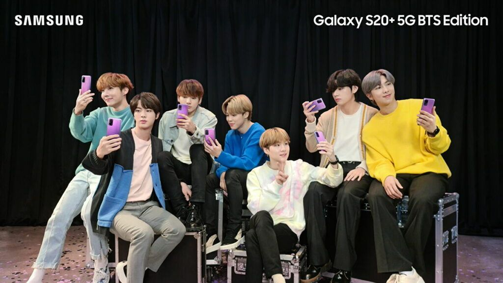 BTS para Samsung