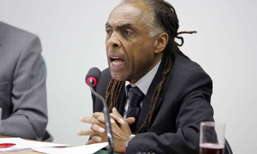 Gilberto Gil ministro da cultura