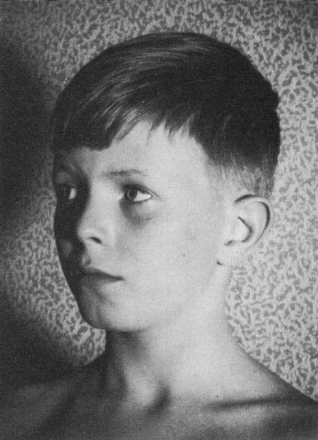 David Bowie quando criança