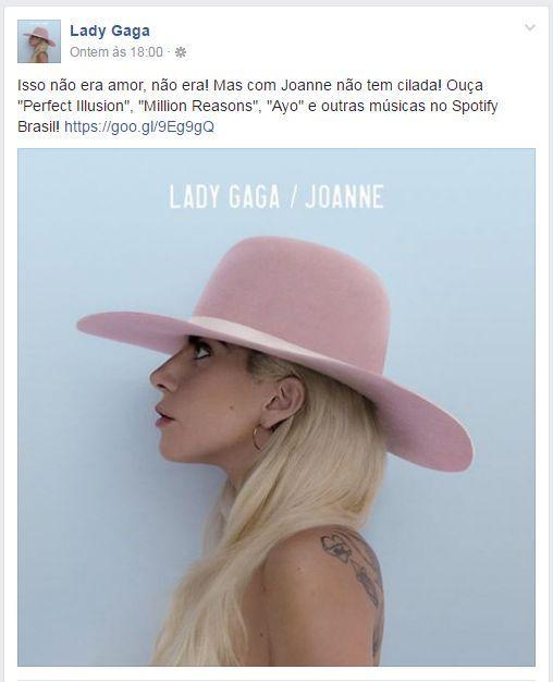 Lady Gaga cilada