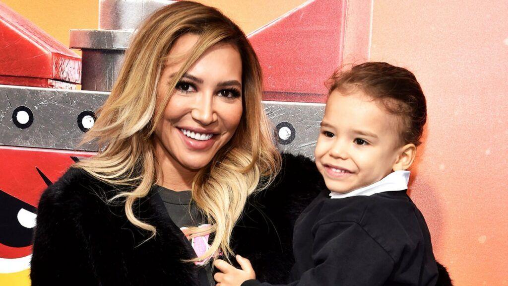 Naya e o filho Josey