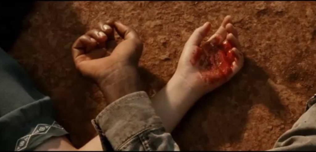 Cena do filme Faroeste Caboclo