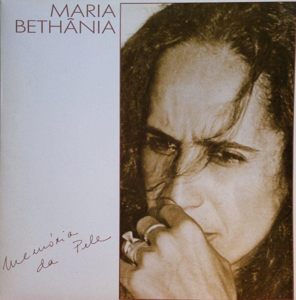 Capa do álbum Memória da Pele