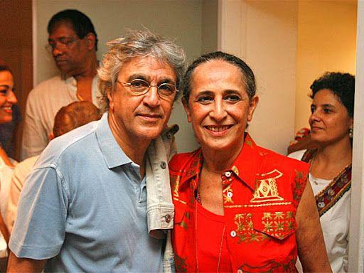 Caetano Veloso e Maria Bethânia