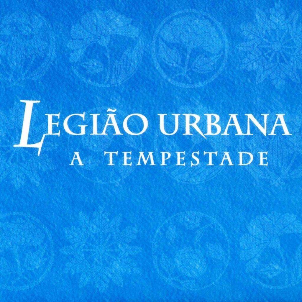 Capa do álbum A Tempestade ou O Livro Dos Dias