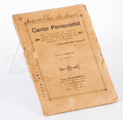 Cantor pentecostal