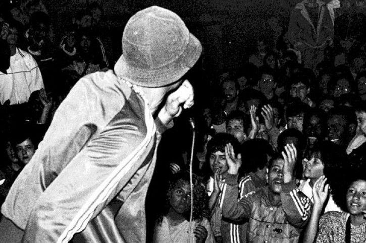 história do rap