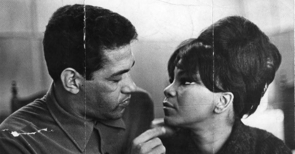 Mané Garrincha e Elza Soares