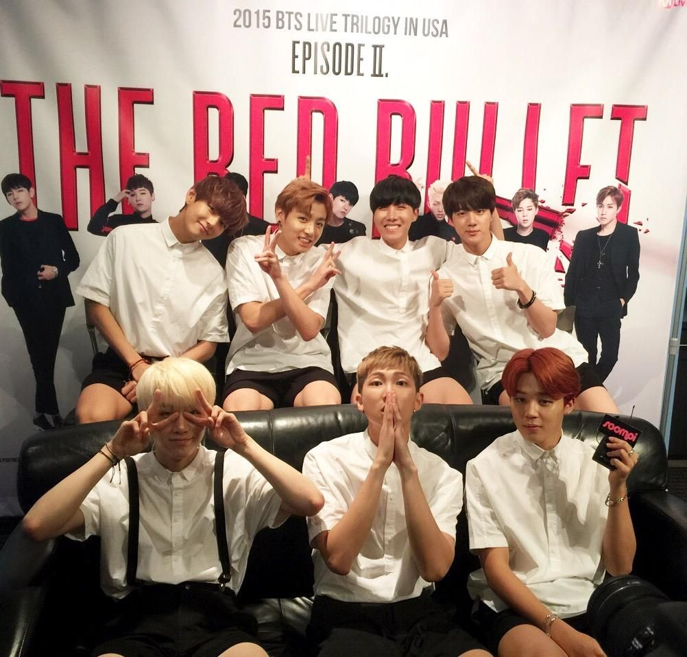 The Red Bullet Tour BTS
