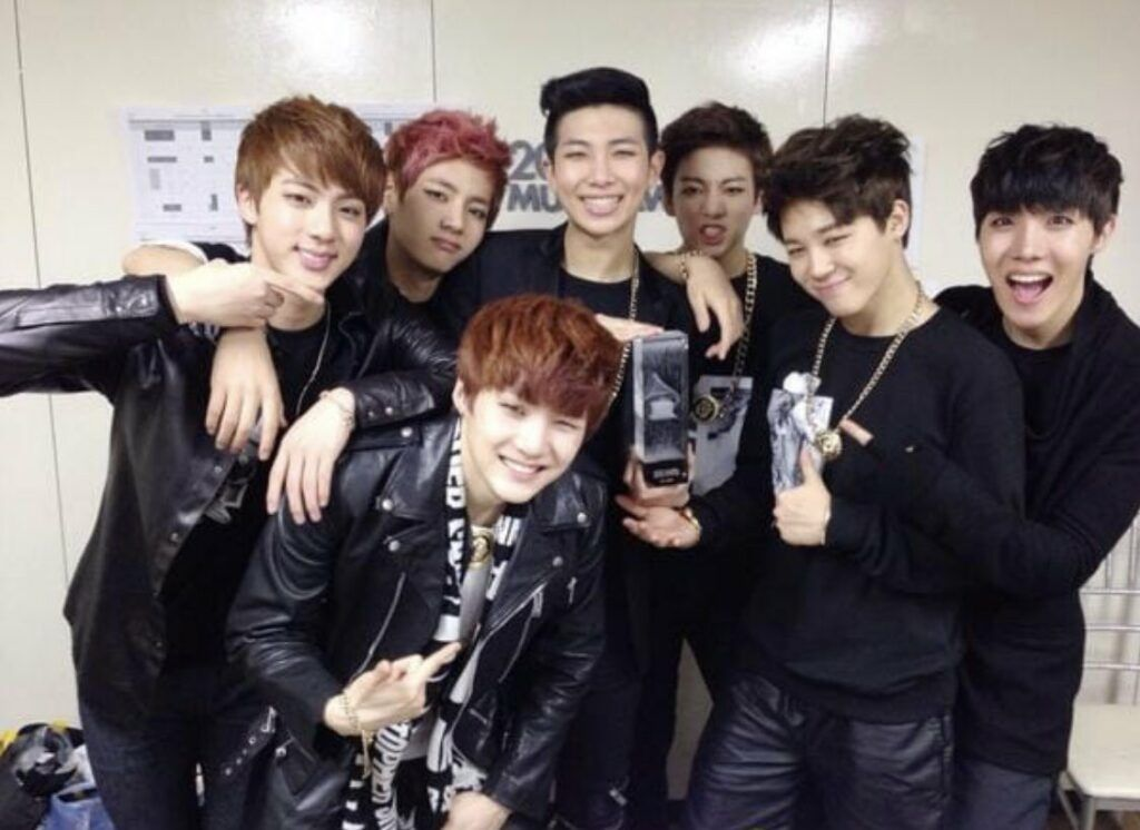 BTS no Melon Music Awards de 2013