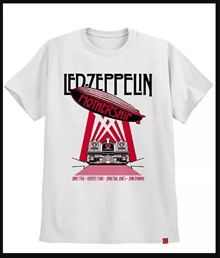Camisa do Led Zeppelin