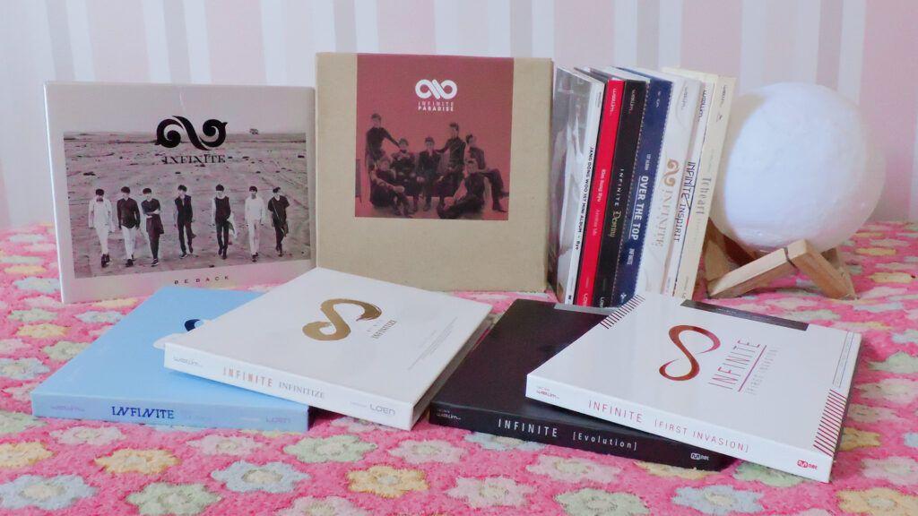 CDs k-pop