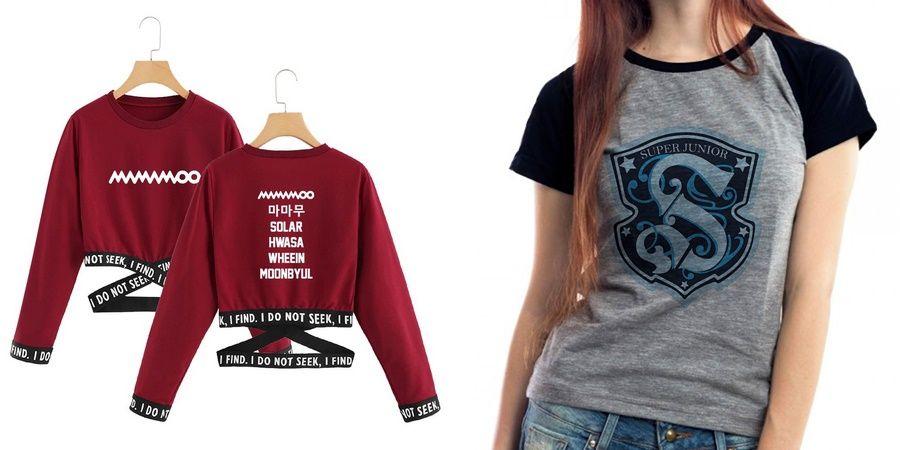 Camisetas k-pop