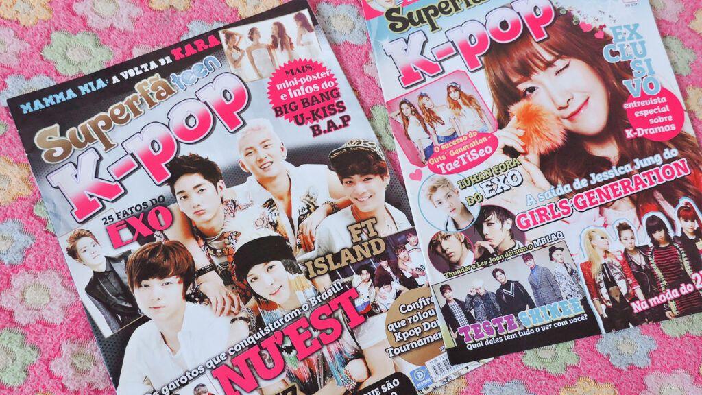 Revistas k-pop