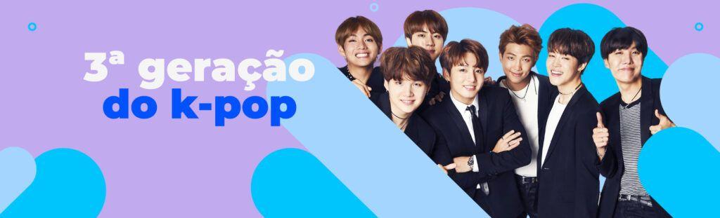 3ª geração do k-pop