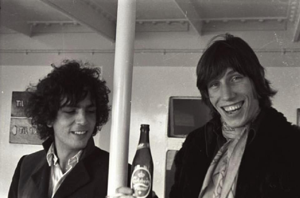 Syd Barret e Roger Waters