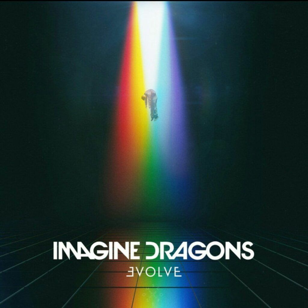 Capa do álbum EVOLVE, do Imagine Dragons