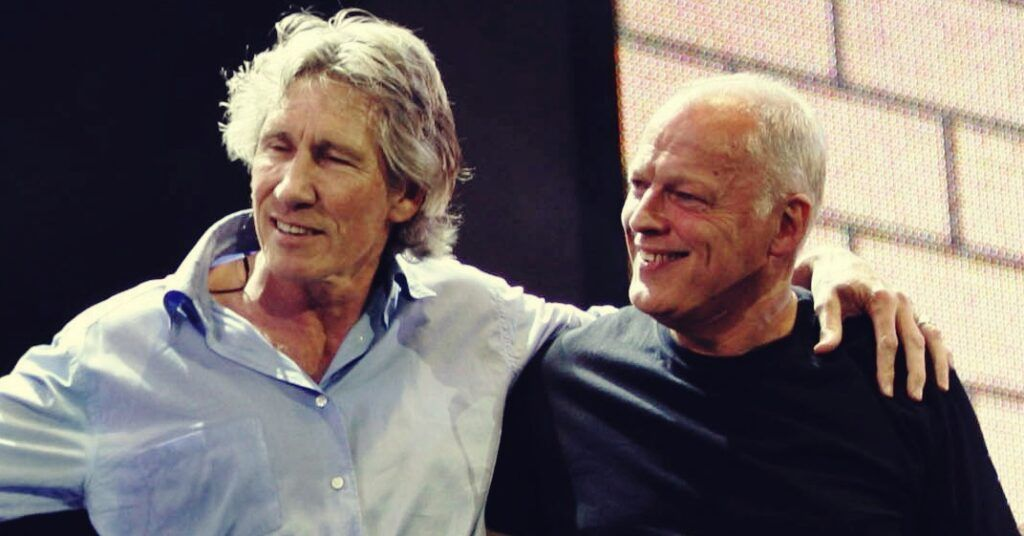 Roger Waters e David Gilmour