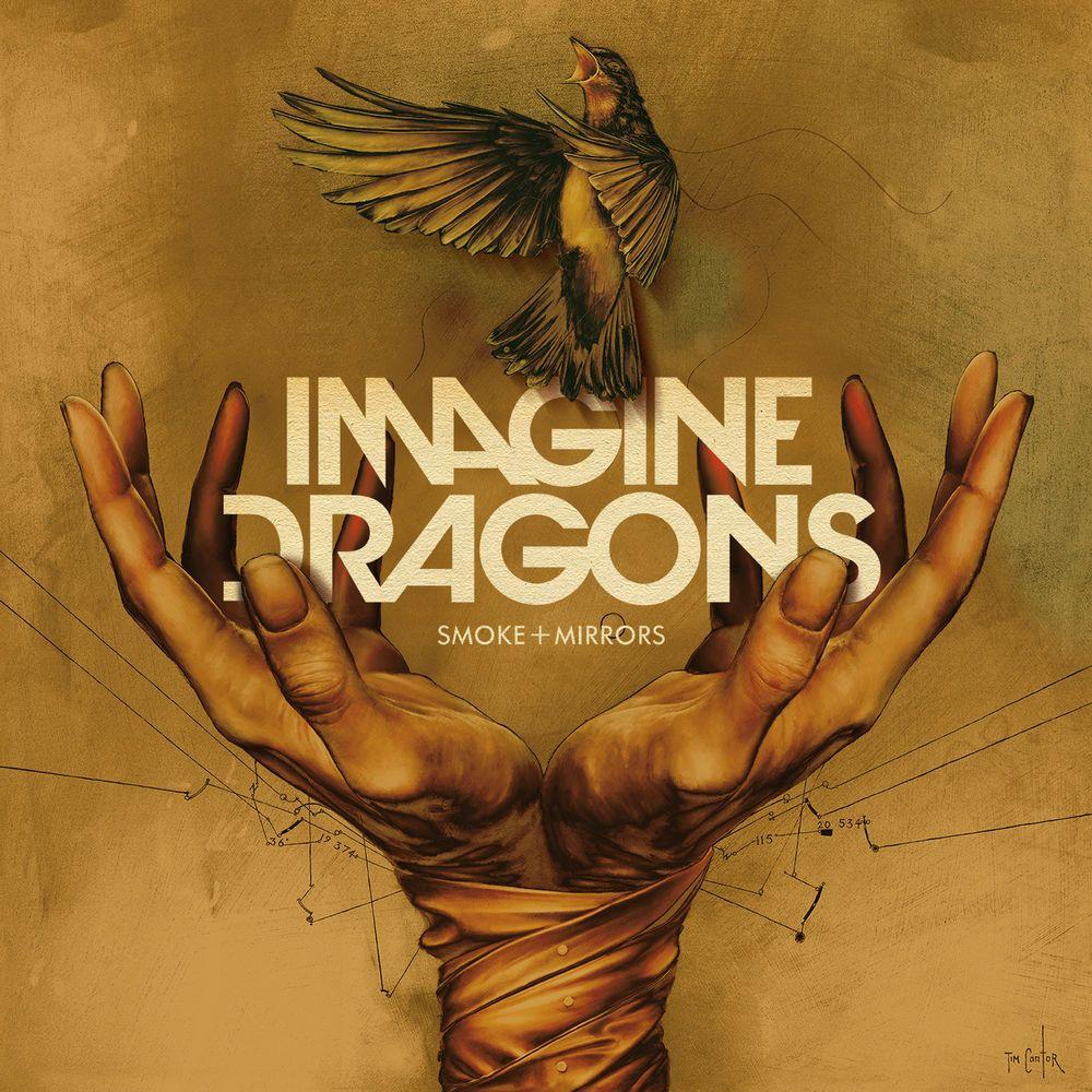 Capa do álbum Smoke + Mirrors, do Imagine Dragons