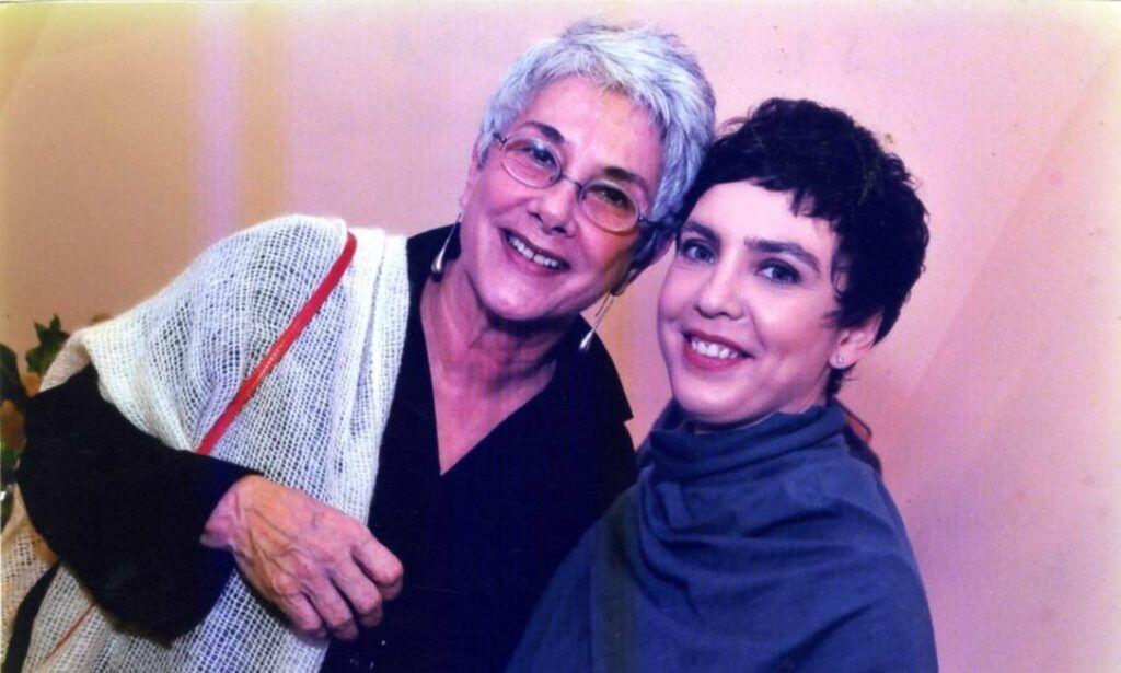 Suzana de Moraes e Adriana Calcanhotto