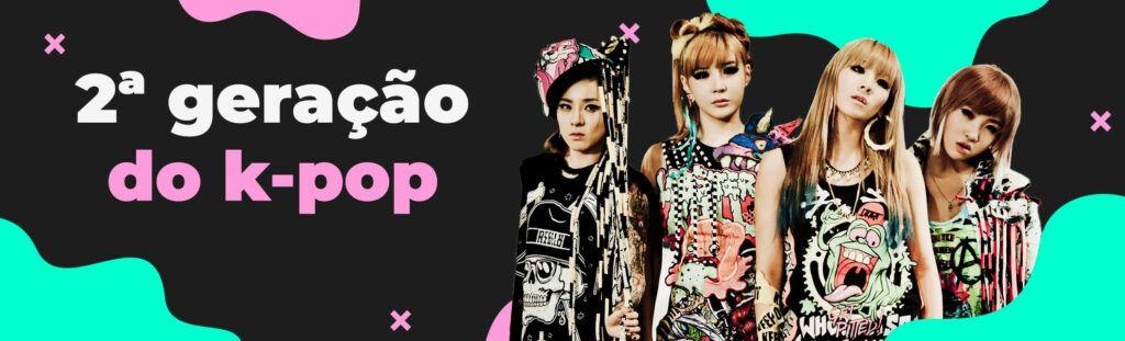 segunda geração k-pop