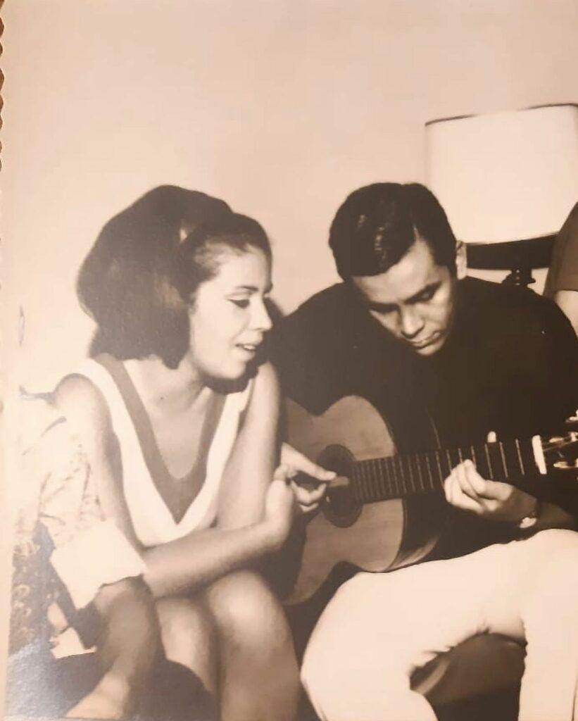 Beth Carvalho e Edmundo Souto
