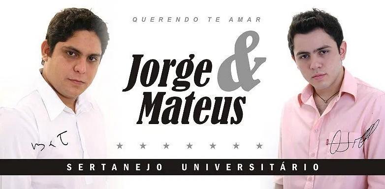 Jorge e Mateus primeio cd
