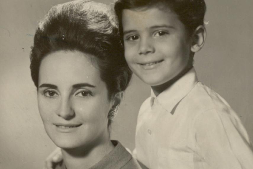 Cazuza e mãe
