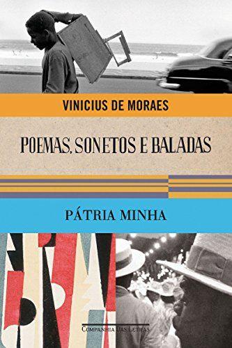 Capa do livro Poemas, Sonetos e Baladas