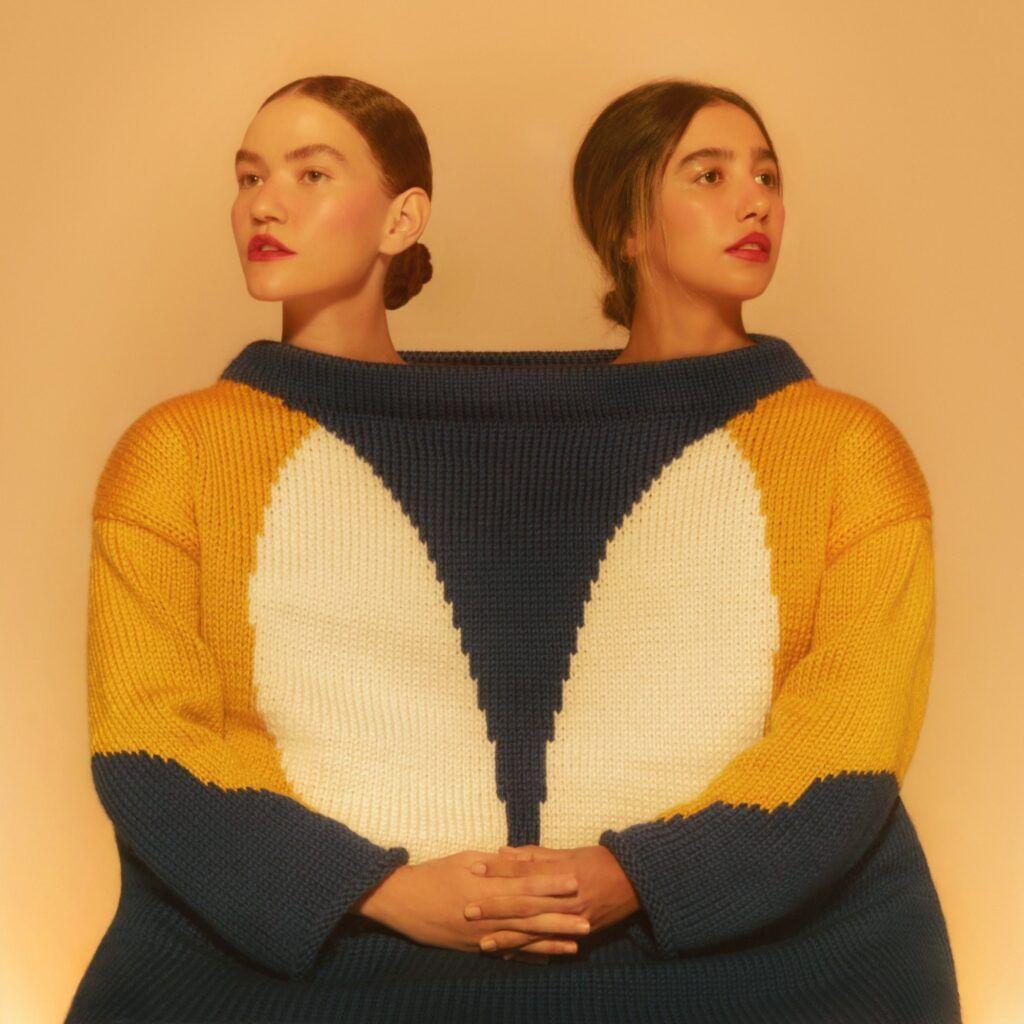 Capa do álbum Cor, do Anavitória