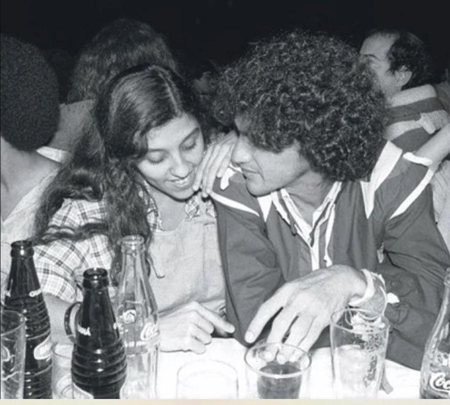 Regina Casé e Caetano Veloso