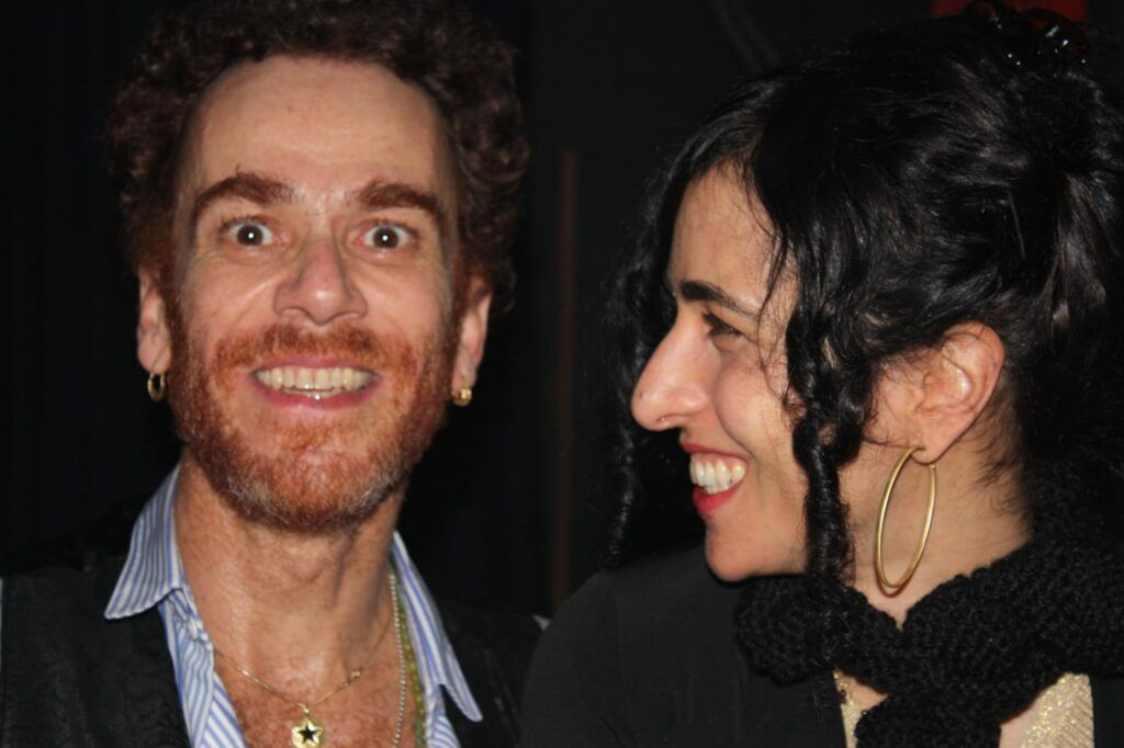 Nando Reis e Marisa Monte