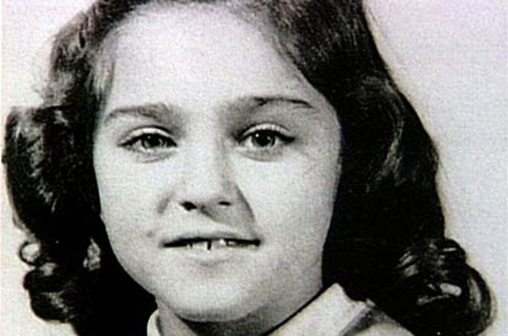 Madonna quando criança