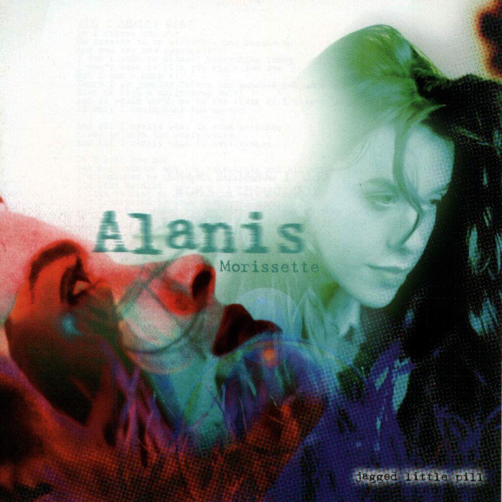 Capa do álbum Jagged Little Pill, de Alanis Morissette