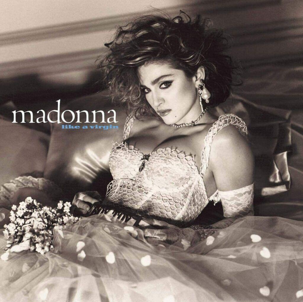 Capa do álbum Like a Virgin, da Madonna