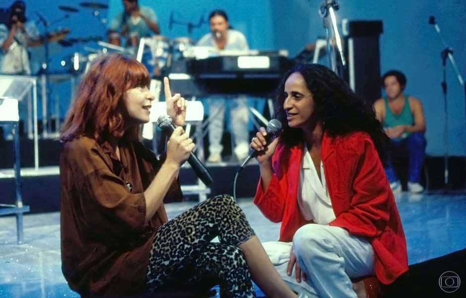 Rita Lee e Maria Bethânia