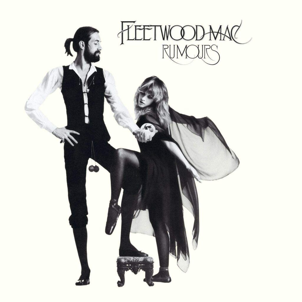 Capa do álbum Rumours, do Fleetwood Mac