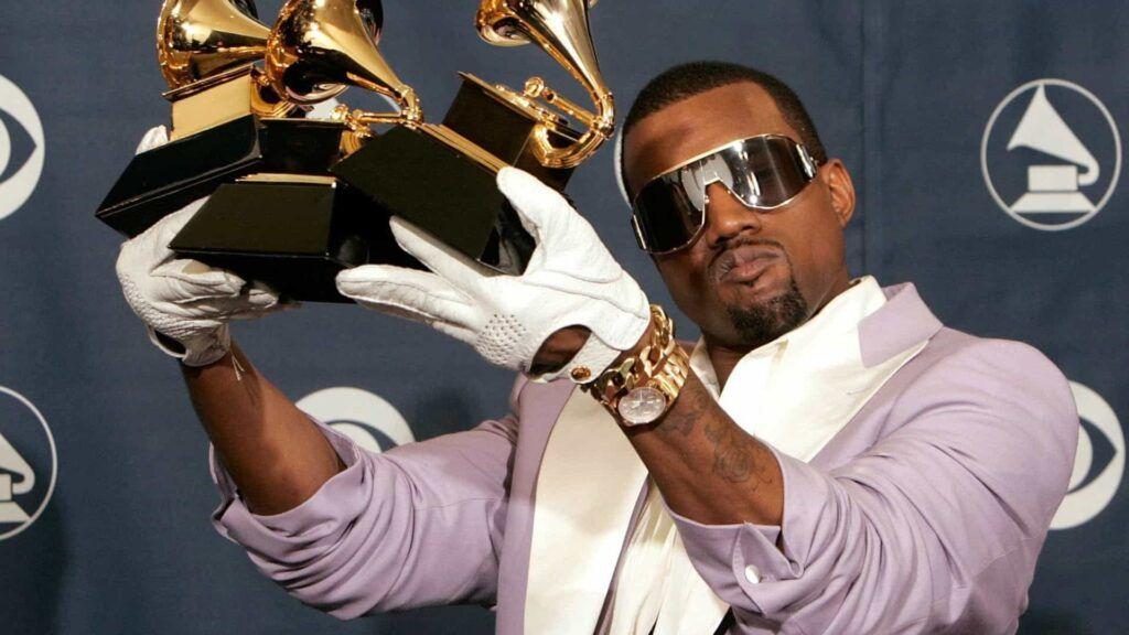 Kanye West no Grammy