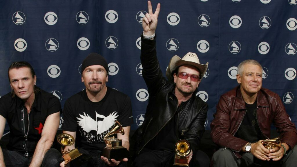 U2 no Grammy