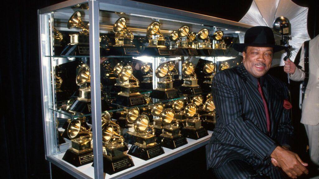 Quincy Jones e seus prêmios doGrammy
