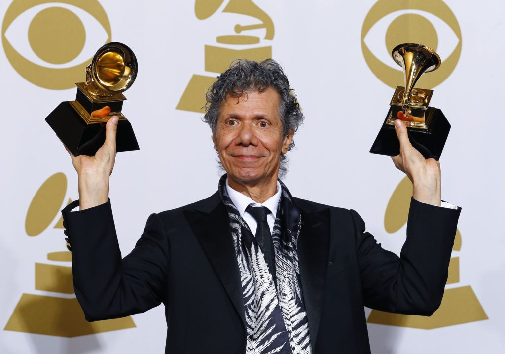 Chick Corea premiado no Grammy