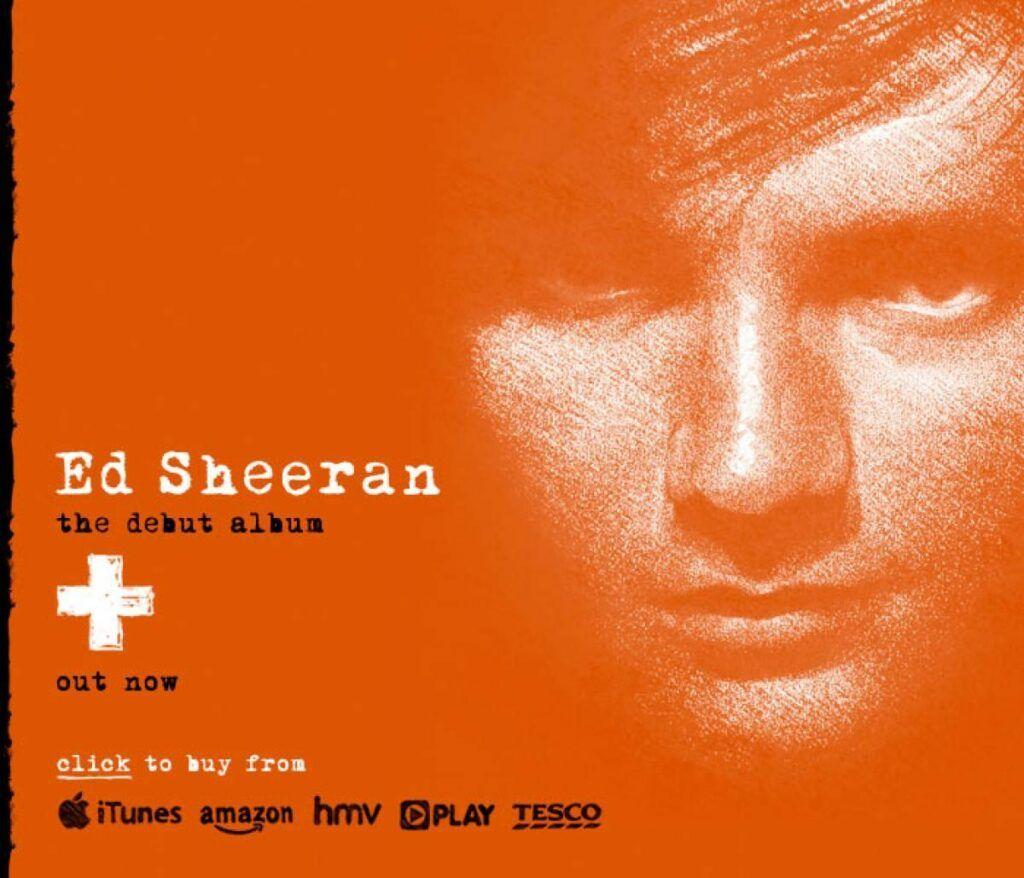 Capa do álbum +, do Ed Sheeran