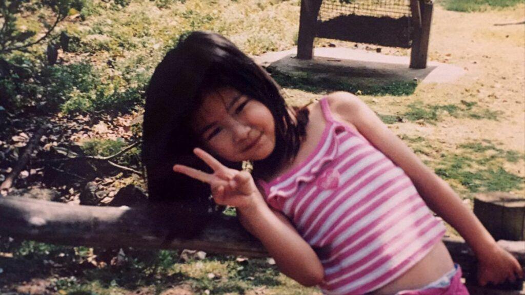 Rosé, do BLACKPINK, quando criança