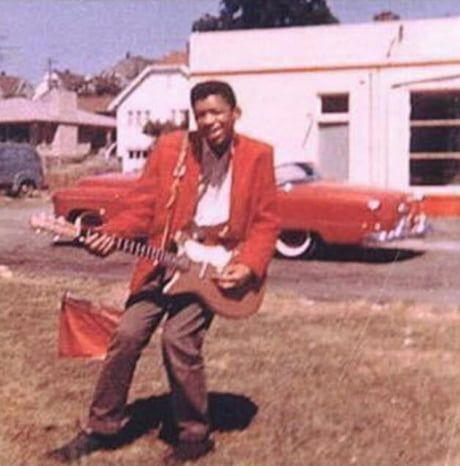 Jimi Hendrix aos 15 anos