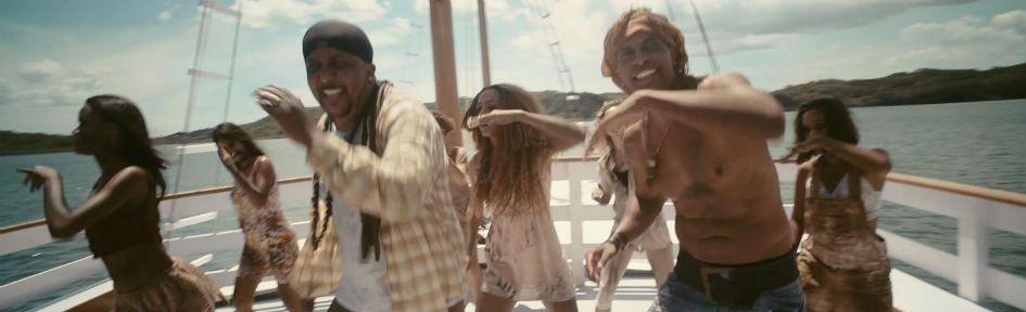 "Tchakabum no clipe ""tesouro de pirata"""