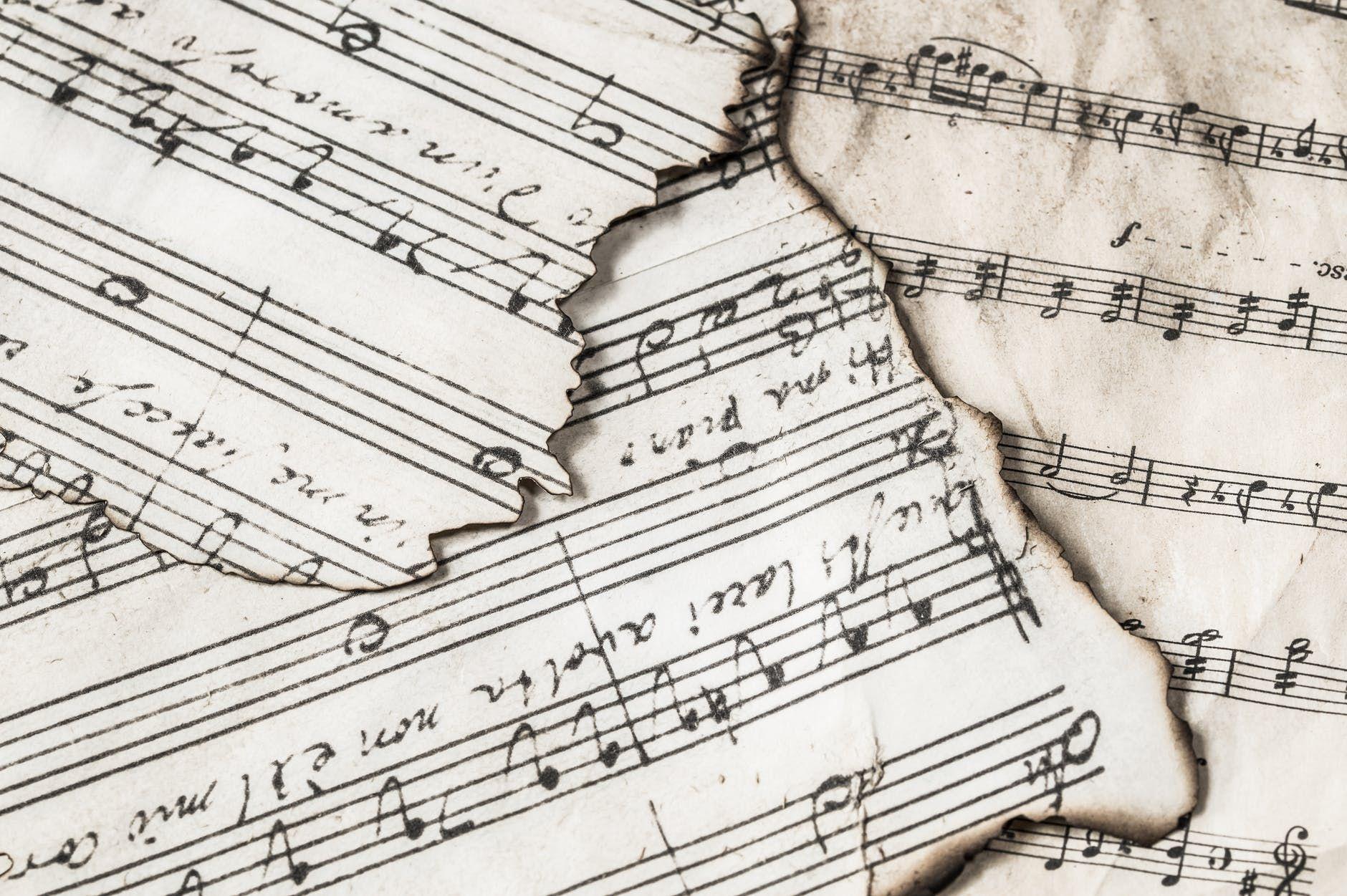 Música que não é registrada, vira sucata