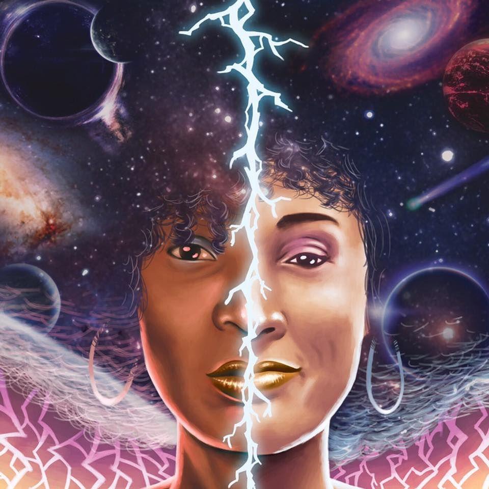 Dupla lança disco que representa a força feminina no hip hop