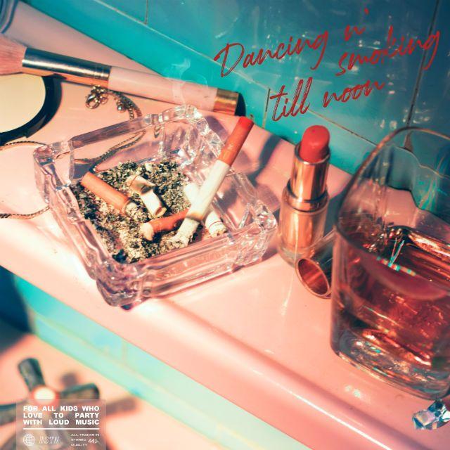 Dancing-n'smoking-till-noo, disco de estreia da DSTN
