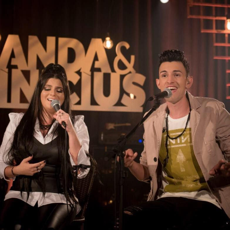 Nanda e Vinicius, dupla sertaneja que veio para ficar